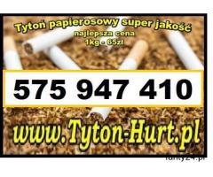 Tytoń papierosowy Tyton-Hurt.pl - 65zł 1kg, wysylka 24h tani tyton